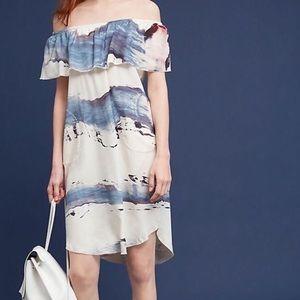 Anthropologie Off the Shoulder Dress